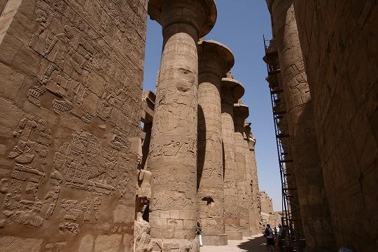 エジプト旅行 カルナック神殿  →エジプト旅行 ツアー4日目へ 5日目 ルクソール西岸 ⇒ カイ