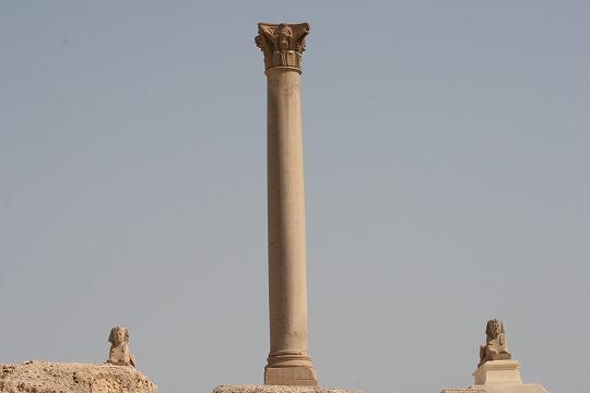 エジプト旅行 ポンペイの柱 ポンペイの柱 | エジプト旅行記@元スッチーが格安航空券ツアーでピラ