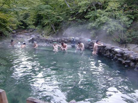 奥薬研温泉 「かっぱの湯」