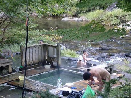 奥薬研温泉 「裏かっぱの湯」