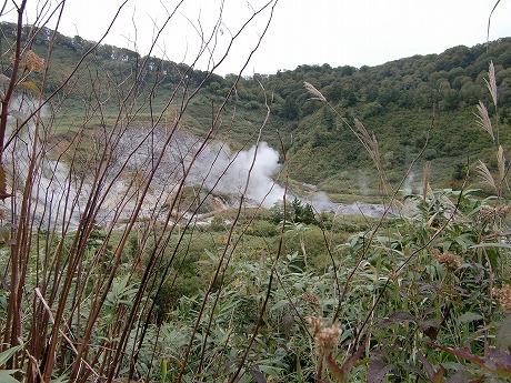 玉川温泉 秋田 湯冶 岩盤浴 玉川自然研究路