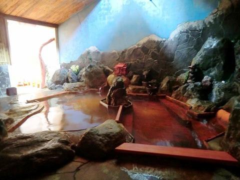 赤石温泉 混浴 日帰り入浴 山梨 画像