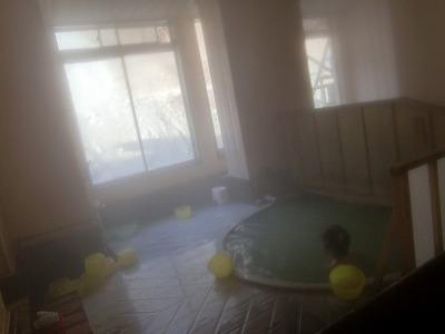 青森 湯ノ沢温泉「秋元温泉」 混浴 日帰り入浴 温泉 画像