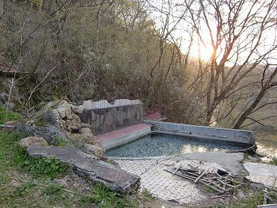 赤生木温泉「町民憩いの家跡」