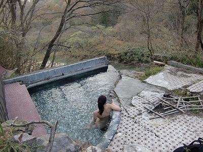赤生木温泉 町民憩いの家跡  宮城 混浴 画像