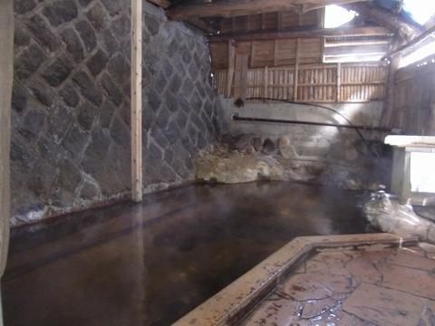 黒川温泉「穴湯共同浴場」