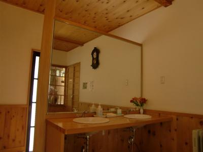 青荷温泉 ランプの宿 青森 混浴 露天風呂 画像