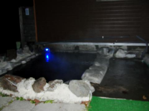 オーロラ温泉 オーロラファームヴィレッジ 北海道 日帰り入浴 男女別露天風呂 画像