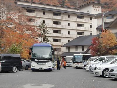 湯西川温泉「伴久ホテル」