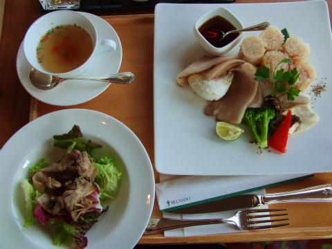 あてま温泉 当間高原リゾート ベルナティオ レストラン 新潟 食事 画像