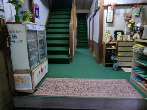 湯澤温泉「長生館」山梨 露天風呂 日帰り 混浴 画像