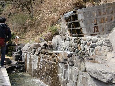万葉公園足湯施設 「独歩の湯」神奈川 湯河原温泉 足湯 画像
