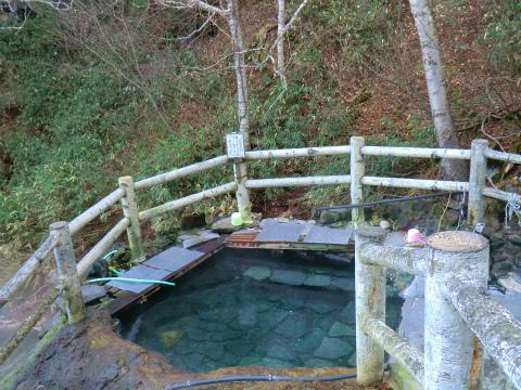 吹上温泉 吹上露天の湯 北海道 混浴 露天風呂 無料 画像