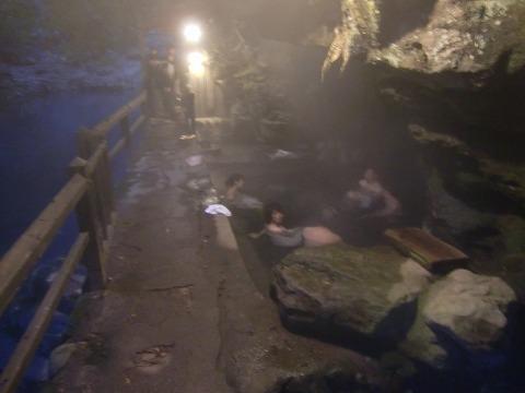 壁湯温泉 旅館福元屋 大分 混浴 露天風呂 日帰り入浴 温泉 画像