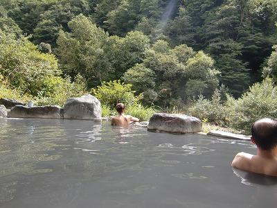 五色温泉 五色の湯旅館 混浴 長野 日帰り温泉 画像
