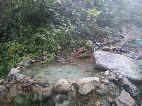 白馬八方温泉「露天風呂」