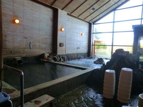 吹上温泉 吹上温泉保養センター 白銀荘 北海道 日帰り入浴 混浴 露天風呂 画像