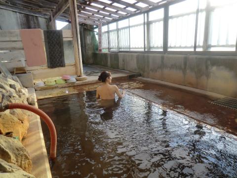 御崎海浜温泉 浜の湯 北海道 混浴 露天風呂 無料 画像