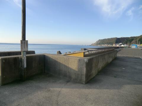 御崎海浜温泉 浜の湯 北海道 混浴 共同湯 画像