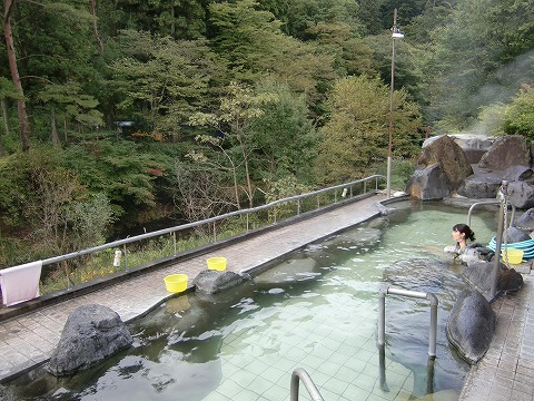 東蛇の湯 中山平温泉 宮城県 混浴露天風呂 画像
