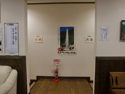 湯ノ沢間欠泉湯の華 広河原温泉 山形県 混浴浴場 画像
