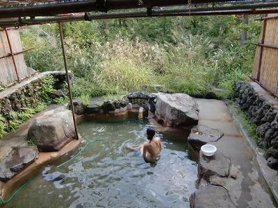 発哺温泉 薬師の湯 混浴 長野 日帰り温泉 画像