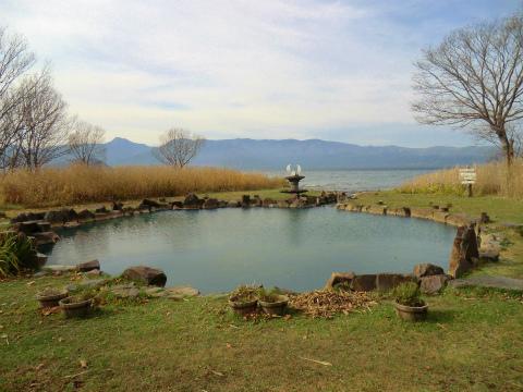 屈斜路湖畔「池の湯」