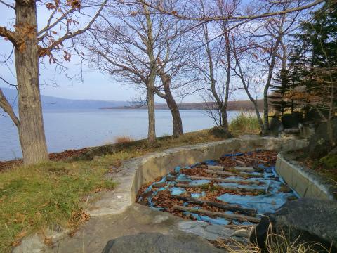 屈斜路湖畔「いなせレジャーランドキャンプ場露天風呂」