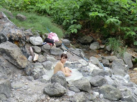 一本松温泉 一本松たっこの湯 秋田 野湯 日帰り温泉 画像