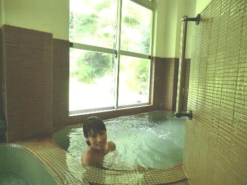 下部温泉「旅館いしもと」山梨 露天風呂 日帰り 混浴 画像