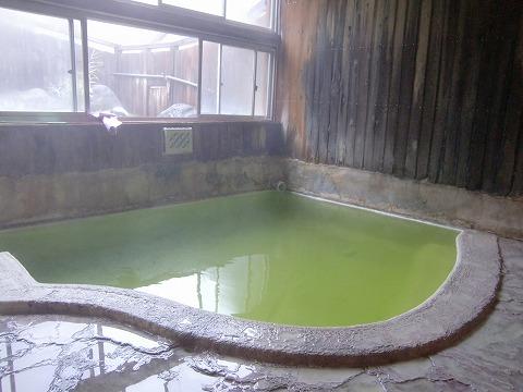 国見温泉 石塚旅館 温泉 岩手 男女別内湯 日帰り入浴 画像