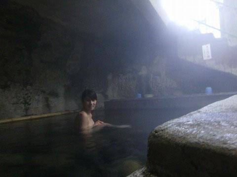 壁湯温泉 壁湯共同温泉 大分 共同浴場 混浴  日帰り入浴 温泉 画像