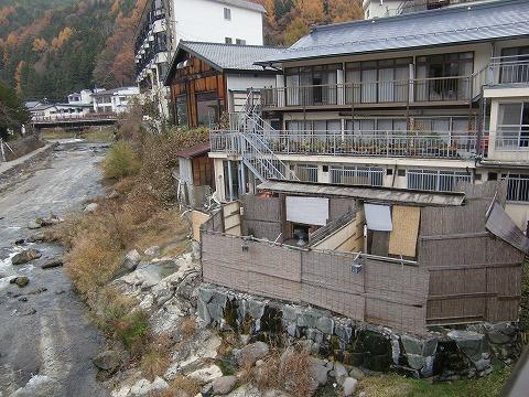 湯西川温泉 金井旅館 男女別大浴場 日帰り温泉 栃木 画像