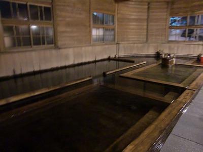 河内温泉 「金谷旅館」 千人風呂 静岡 日帰り温泉 露天風呂 混浴 画像