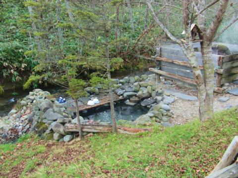 養老牛温泉「からまつの湯」