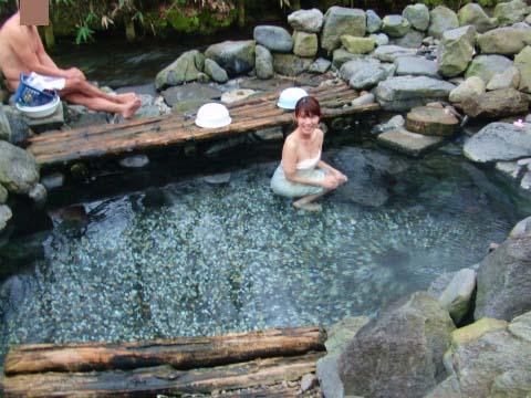 養老牛温泉 からまつの湯 北海道 日帰り入浴 混浴 露天風呂 画像