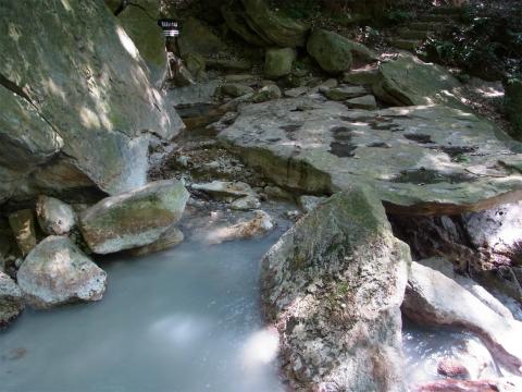 霧島温泉郷 川の湯 鹿児島 混浴 露天風呂 日帰り入浴 温泉 画像