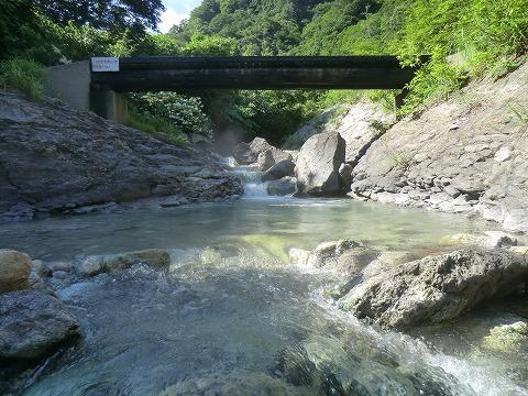 川原毛地獄温泉 「湯の川」