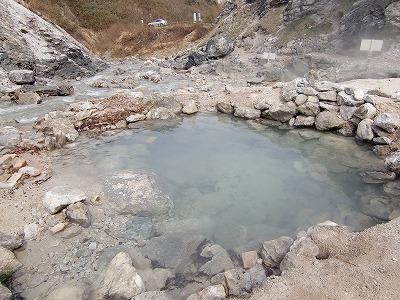 川原毛地獄温泉 「上流の湯」