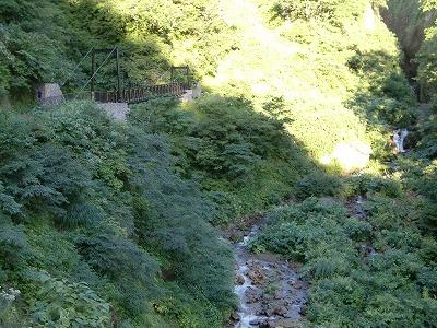 燕温泉 河原の湯 露天風呂 新潟 無料 混浴 日帰り温泉 画像