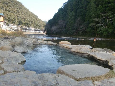 川湯温泉「川湯みどりや」