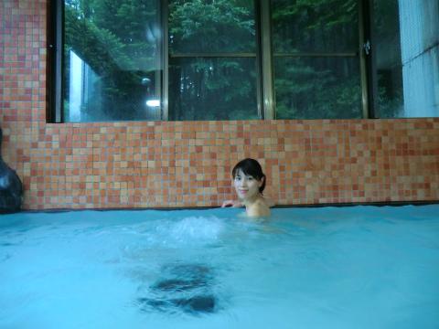 混浴露天風呂 石楠花の湯