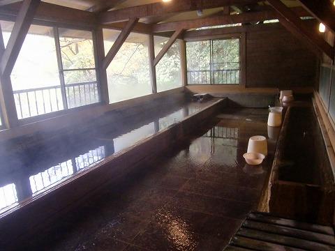 北温泉 北温泉旅館 混浴露天風呂 滝見の湯 日帰り温泉 栃木 混浴 画像