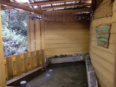 駒の湯温泉「駒の湯 源泉荘」静岡県 露天風呂 混浴 日帰り温泉 画像