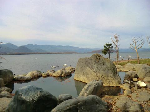 屈斜路湖畔「コタンの湯」