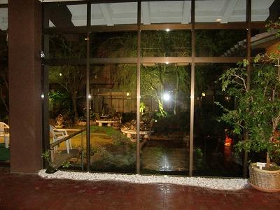 石和温泉 「ホテルくにたち」山梨 露天風呂 混浴 画像