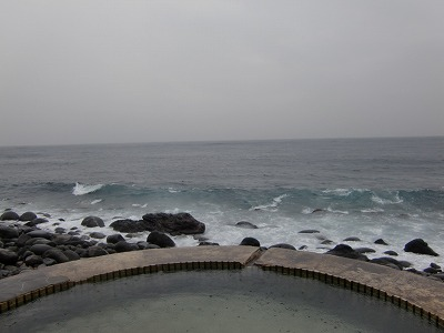 北川温泉「黒根岩風呂」混浴 静岡県 露天風呂 アクセス 地図 駐車場 日の出 日帰り温泉 画像