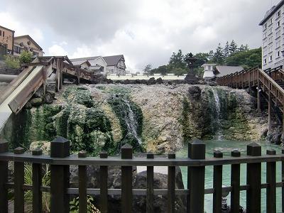草津温泉 湯畑 群馬 画像