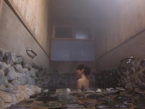 真賀温泉 真賀温泉館 岡山 混浴 露天風呂 日帰り入浴 温泉 画像
