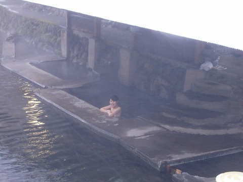 満願寺温泉 川湯 熊本 混浴 露天風呂 日帰り入浴 温泉 画像